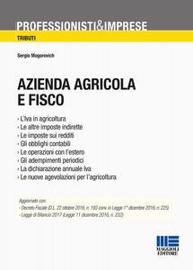 Azienda agricola e fisco