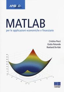 Premioquesti.it Matlab per le applicazioni economiche e finanziarie Image
