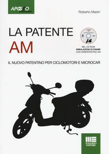 Charun.it La patente AM. Il nuovo patentino per ciclomotori. Con CD-ROM Image