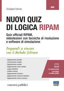 Tegliowinterrun.it Nuovi quiz di logica RIPAM. Con 34 videolezioni e software di simulazione Image