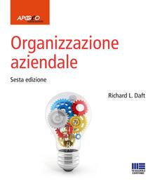 Organizzazione aziendale - Richard L. Daft - copertina