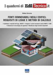 Camfeed.it Fonti rinnovabili negli edifici: requisiti di legge e metodi di calcolo Image