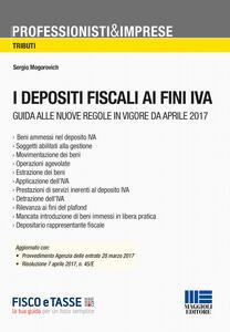 I depositi fiscali ai fini IVA