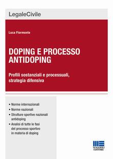 Chievoveronavalpo.it Doping e processo antidoping Image