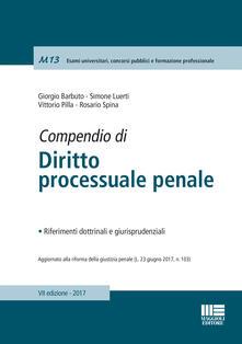 Lpgcsostenible.es Compendio di diritto processuale penale Image