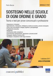 Sostegno nelle scuole di ogni ordine e grado. Teoria e test per prove concorsuali e professione.pdf