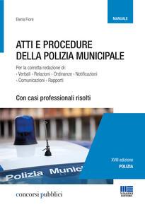 Atti e procedure della polizia municipale
