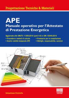 APE. Manuale operativo per lattestato di prestazione energetica.pdf