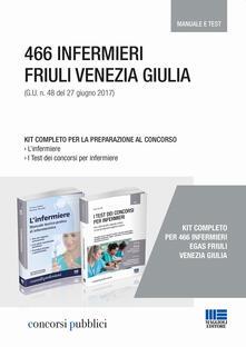 Voluntariadobaleares2014.es 466 infermieri Friuli Venezia Giulia. Kit completo per la preparazione al concorso. Manuale e test Image