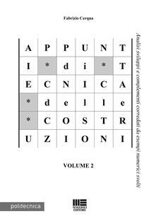 Daddyswing.es Appunti di tecnica delle costruzioni. Vol. 2 Image