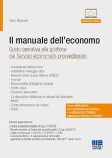 Promoartpalermo.it Il manuale dell'economo. Guida operativa alla gestione del servizio economato-provveditorato. Con CD-ROM Image