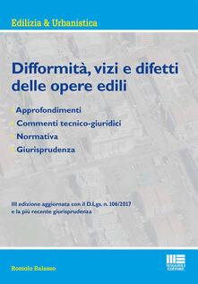 Vastese1902.it Difformità, vizi e difetti delle opere edili Image