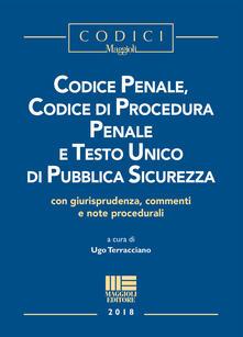 Voluntariadobaleares2014.es Codice penale, codice di procedura penale e testo unico di pubblica sicurezza Image
