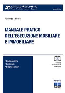 Listadelpopolo.it Manuale pratico dell'esecuzione mobiliare e immobiliare Image