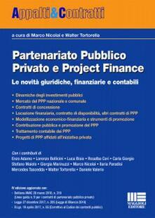 Ilmeglio-delweb.it Partenariato pubblico privato e project finance Image