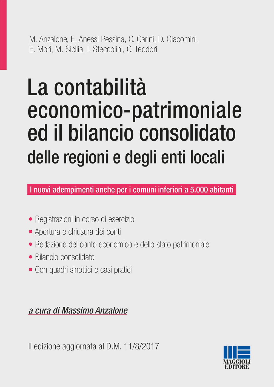 Image of La contabilità economico-patrimoniale ed il bilancio consolidato delle regioni e degli enti locali