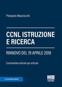 Libro CCNL istruzione e ricerca Pierpaolo Masciocchi