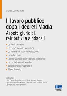 Ipabsantonioabatetrino.it Il lavoro pubblico dopo i decreti Madia. Aspetti giuridici, retributivi e sindacali Image