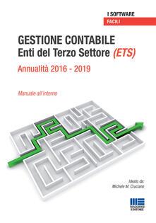 Warholgenova.it Gestione contabile Enti del Terzo Settore (ETS). Annualità 2016-2019. Manuale all'interno. CD-ROM Image