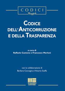 Secchiarapita.it Codice dell'anticorruzione e della trasparenza Image