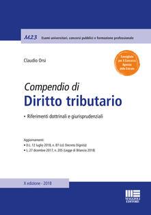 Compendio di diritto tributario. Riferimenti dottrinali e giurisprudenziali.pdf