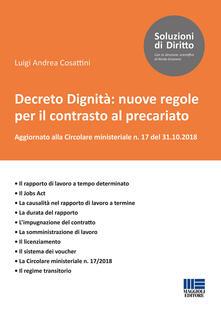 Museomemoriaeaccoglienza.it Decreto Dignità: nuove regole per il contrasto al precariato Image