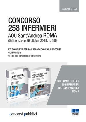 Concorso 258 infermieri AOU Sant'Andrea Roma