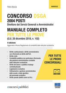 Filippodegasperi.it Concorso DSGA. Manuale completo per tutte le prove Image