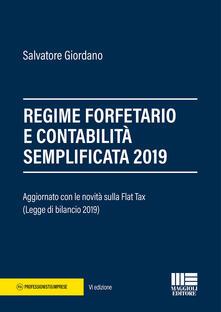 Librisulladiversita.it Regime forfetario e contabilità semplificata 2019 Image