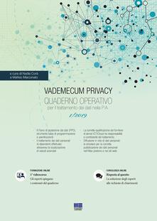 Milanospringparade.it Vademecum Privacy. Quaderno operativo per il trattamento dei dati nella PA (2019). Vol. 1 Image