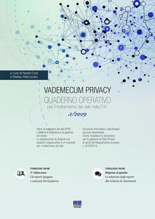 Daddyswing.es Vademecum Privacy. Quaderno operativo per il trattamento dei dati nella PA (2019). Vol. 3 Image