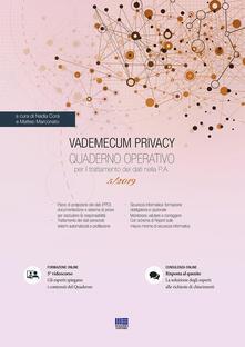 Antondemarirreguera.es Vademecum Privacy. Quaderno operativo per il trattamento dei dati nella PA (2019). Vol. 5 Image
