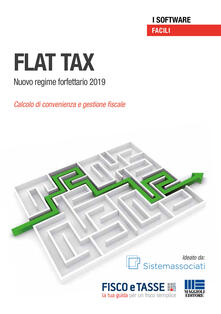 Premioquesti.it Flat Tax. Nuovo regime forfetario 2019. Calcolo di convenienza e gestione fiscale Image