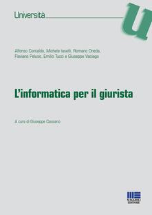 Grandtoureventi.it L' informatica per il giurista Image