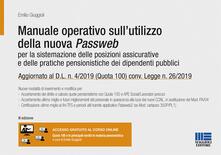 Grandtoureventi.it Manuale operativo sull'utilizzo della nuova Passweb. Per la sistemazione delle posizioni assicurative e delle pratiche pensionistiche dei dipendenti pubblici Image