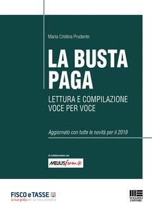 Lpgcsostenible.es La busta paga. Lettura e compilazione voce per voce Image