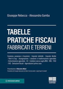 Ipabsantonioabatetrino.it Tabelle pratiche fiscali. Fabbricati e terreni Image