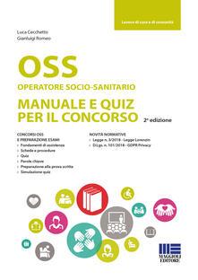 Equilibrifestival.it OSS Operatoresocio-sanitario. Manuale e quiz per il concorso Image