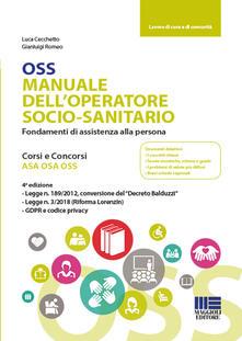 Amatigota.it OSS Manuale dell'operatore socio-sanitario. Fondamenti di assistenza alla persona Image