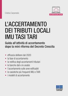 Antondemarirreguera.es L' accertamento dei tributi locali IMU TASI TARI Image