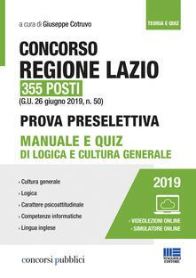 Lpgcsostenible.es Concorso Regione Lazio 355 posti Image