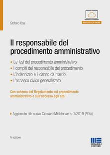 Parcoarenas.it Il responsabile del procedimento amministrativo Image