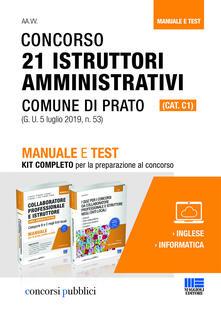 Concorso 21 istruttori amministrativi (cat. c1) Comune di Prato.pdf