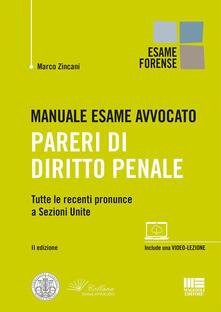 Manuale esame avvocato. Pareri di diritto penale.pdf