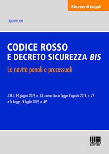 Codice Rosso e Decreto Sicurezza Bis.pdf