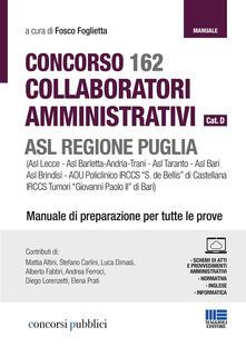 Winniearcher.com Concorso 162 assistenti e collaboratori amministrativi ASL Puglia Image