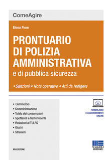 Parcoarenas.it Prontuario di polizia amministrativa e delle leggi di pubblica sicurezza Image