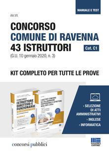 Steamcon.it Concorso Comune di Ravenna 43 Istruttori Cat. C1 (G.U. 10 gennaio 2020, n. 3). Kit completo per tutte le prove Image