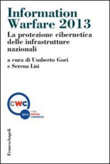 Equilibrifestival.it Information warfare 2013. La protezione cibernetica delle infrastrutture nazionali Image