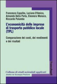 Squillogame.it L' economicità delle imprese di trasporto pubblico locale (TPL). Comparazione dei costi, dei rendimenti e dei risultati Image